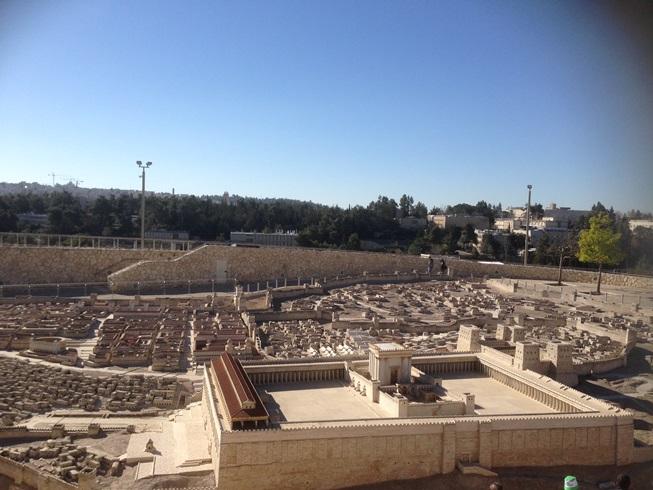 エルサレム模型