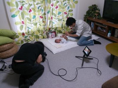 育児風景撮影