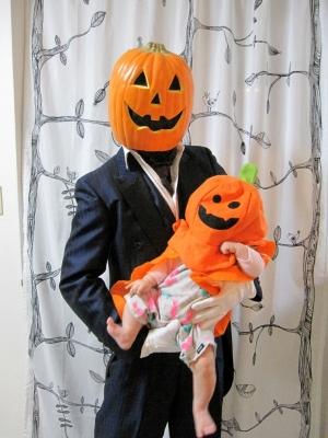 ハロウィンかぼちゃちゅぱ子