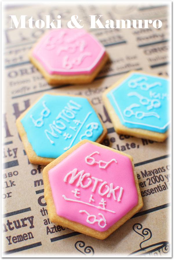 ロゴクッキー♪