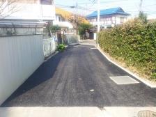砂利道_舗装工事完了