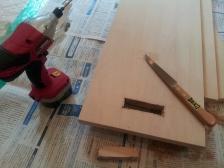 家具取っ手加工