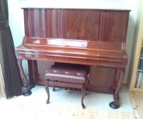 アップライトピアノ設置完了