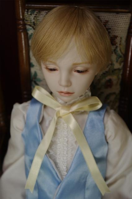美少年ビスクドールが作りたい。