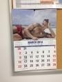 2014 Calender 2 アロマスクール マッサージスクール オーストラリア