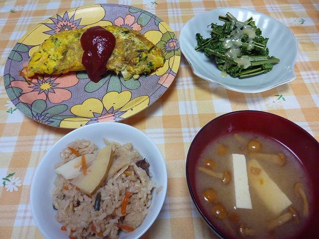 竹の子ご飯 002