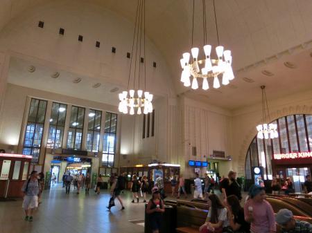 ヘルシンキ中央駅①