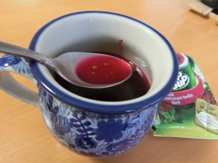 ビーツスープ②