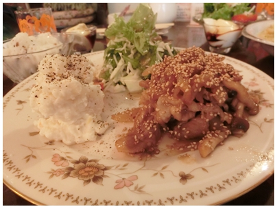 カフェラトープ6(豚肉プレート2)