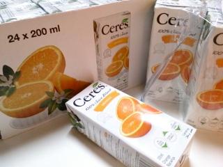 コストコ セレスオレンジ200ml×24¥1169a