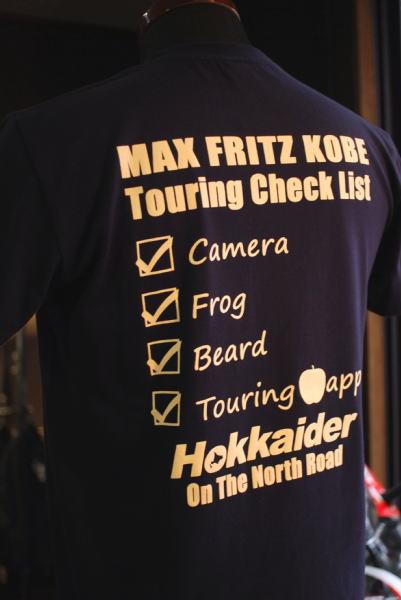 Hokkaider×MaxFritzKOBE コラボTシャツ
