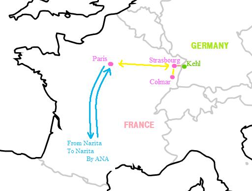 2009パリ旅行