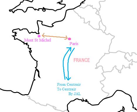 2008パリ旅行