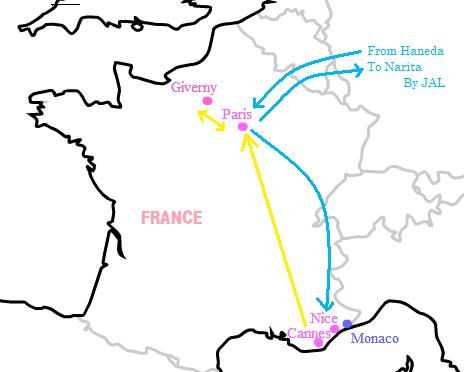 2011パリ旅行