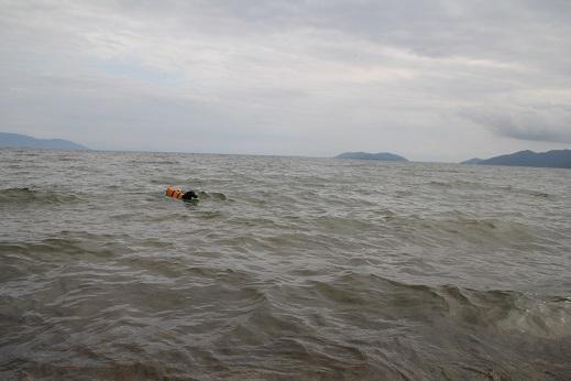 夢ちゃんと琵琶湖 6