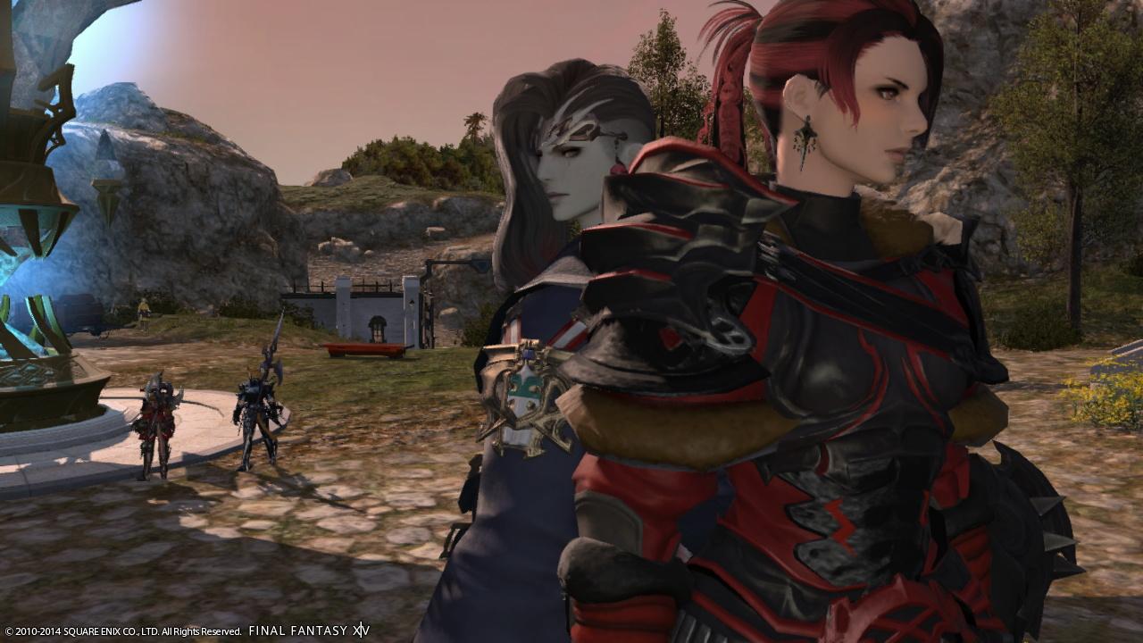 かっこいい戦士とルガ♀
