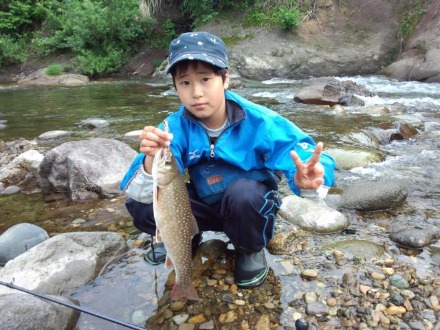 6月21日岩魚