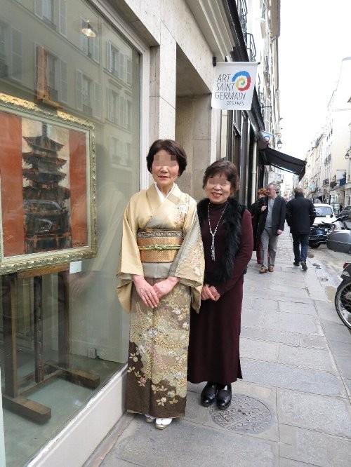 藤井画伯とちえこちゃんのママ