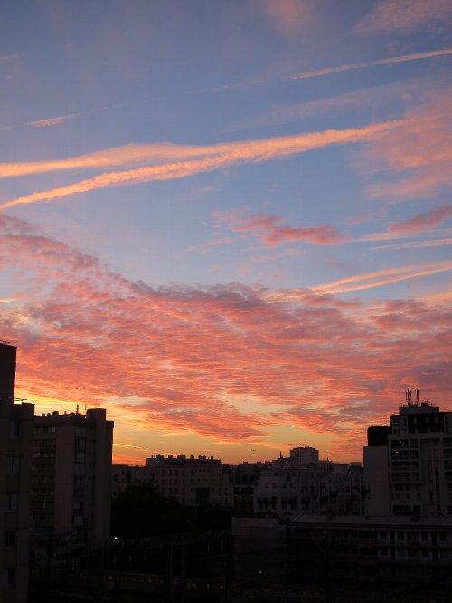 2014年9月17日朝焼け 003