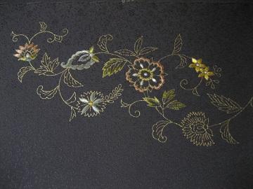 日本刺繍 帯 腹文4