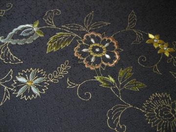 日本刺繍 帯 腹文5