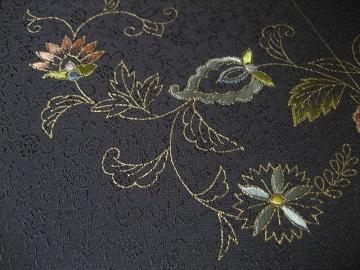 日本刺繍 帯 腹文6