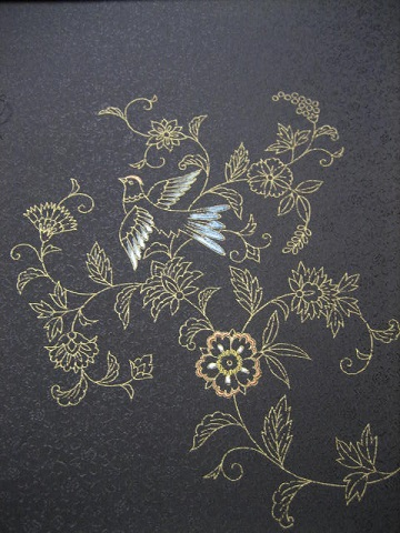 日本刺繍 お太鼓2