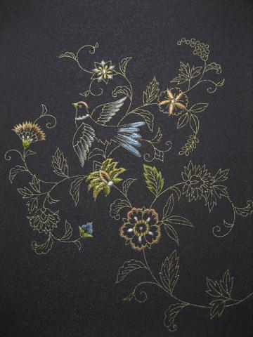 日本刺繍 お太鼓8