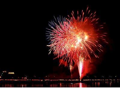 観光祭 花火