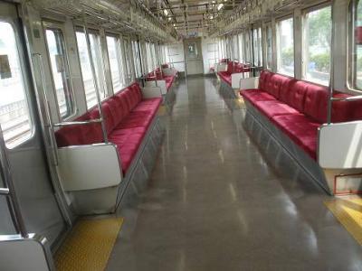 竜田延伸列車内