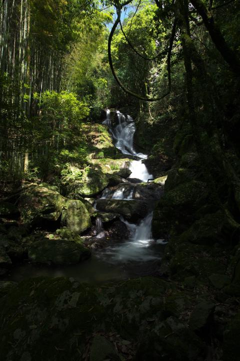 大道理の魚切の滝1402