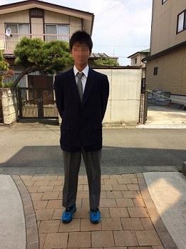 二男入学式 (1)