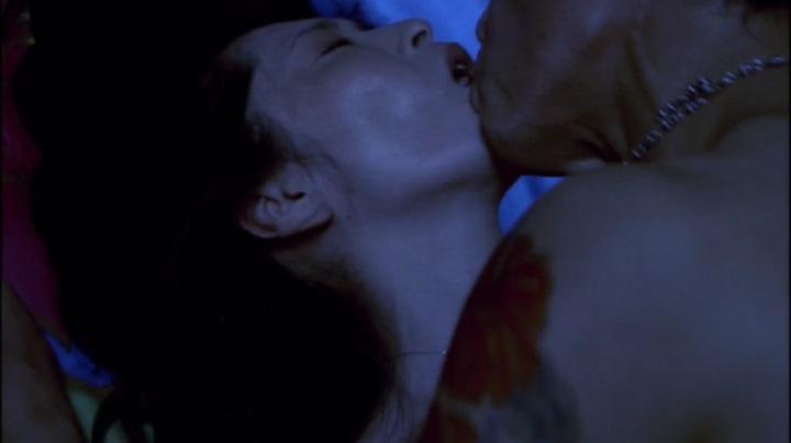 【完全なる飼育】有森也実のヌード&濡れ場、乳首と絡み正常位でキス3