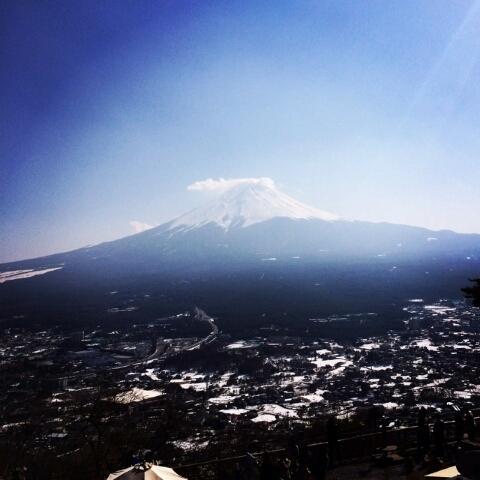 3月20日、朋子ブログの富士山