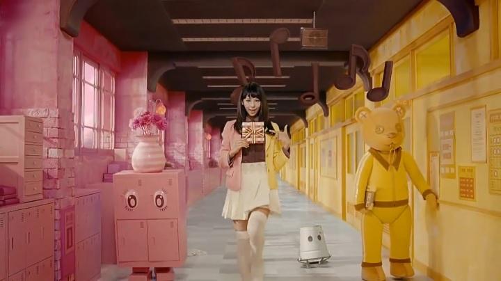 2代目【GTO】葛城美姫カラフルバレンタインCM、ロボット&ぬいぐるみ?