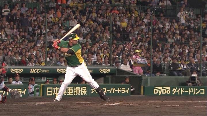 ウル虎、阪神がグリーンユニフォーム披露!(夜)ゴメス2