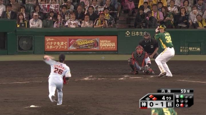 ウル虎、阪神がグリーンユニフォーム披露!(夜)新井良太2