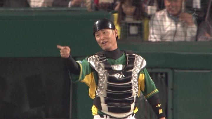ウル虎、阪神がグリーンユニフォーム披露!(夜)鶴岡6