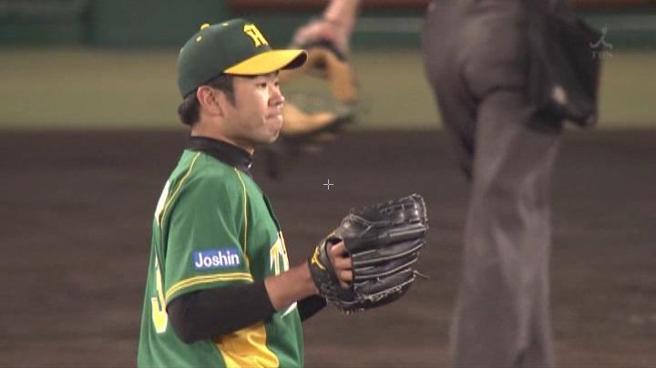 ウル虎、阪神がグリーンユニフォーム披露!(夜)榎田3