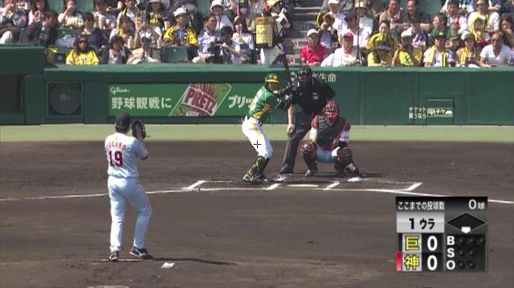 ウル虎、阪神がグリーンユニフォーム披露!(昼)柴田1