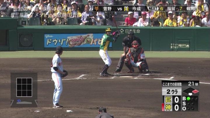 ウル虎、阪神がグリーンユニフォーム披露!(昼)今成3