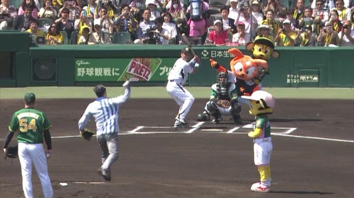ウル虎、阪神がグリーンユニフォーム披露!(昼)イベント