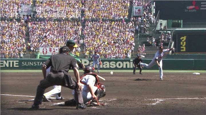 ウル虎、阪神がグリーンユニフォーム披露!(昼)鶴岡が外のボールをタイムリー