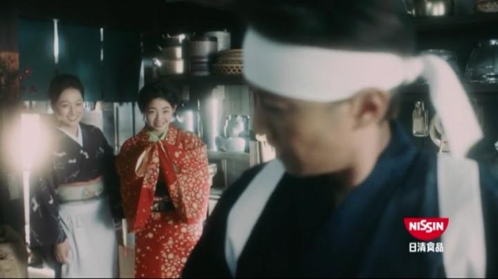 【メビウス】ミサキ女史どん兵衛CM第14弾!「大将」…と弟子、そしてミサキ女史