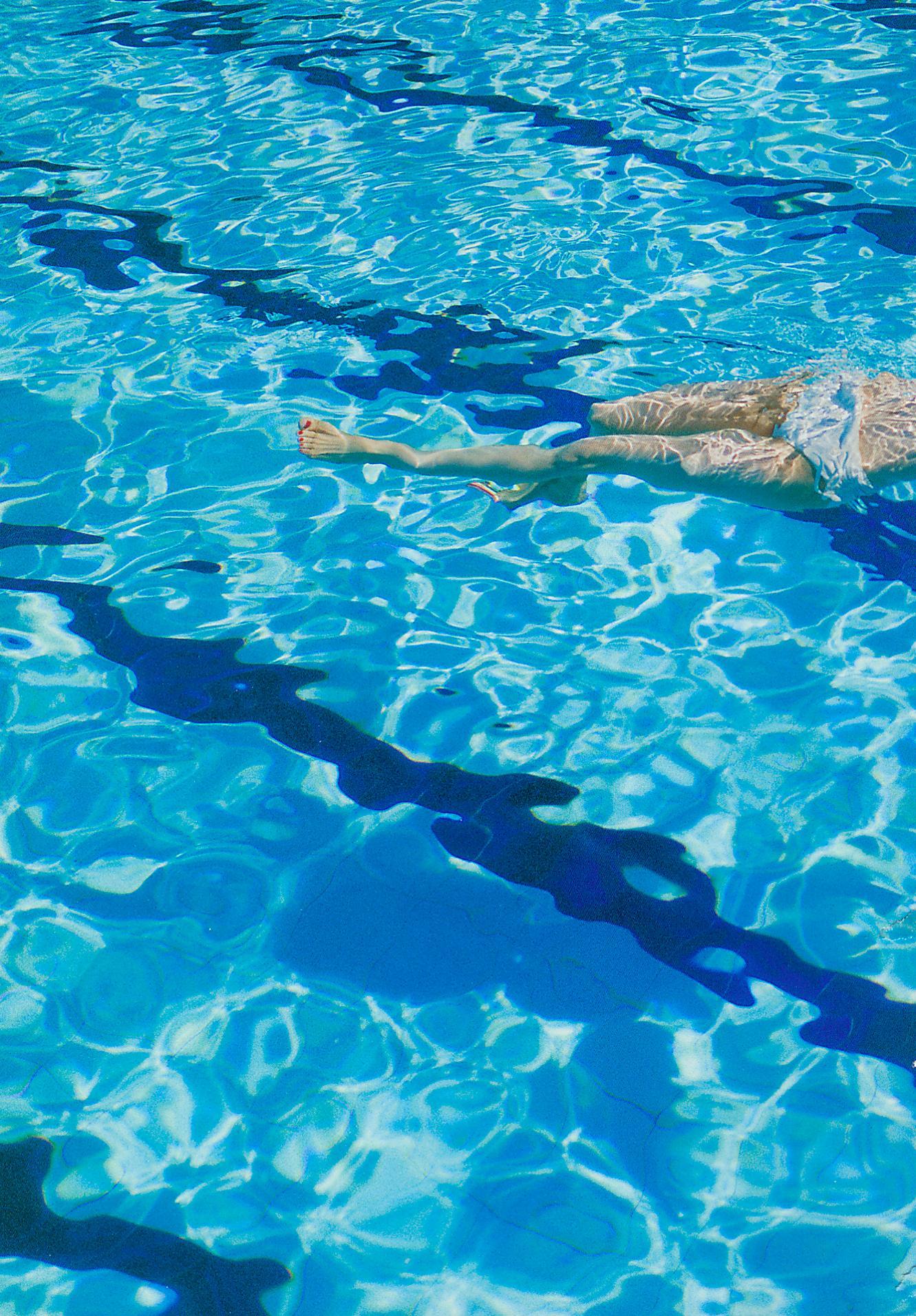 大島優子の脱ぎやがれ!水着(水中、プール?)6