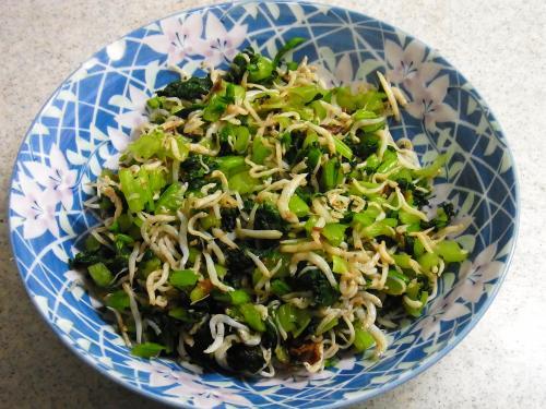 140906-231小松菜のしらすおかか和え(S)
