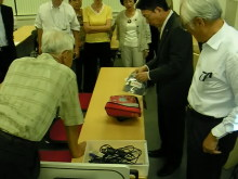 ささえあい・さんじょ倶楽部のイベント情報-230908_救急医療の現場から AED
