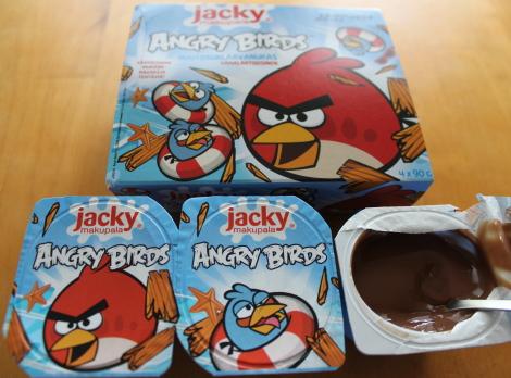 Angry Birds vanukas