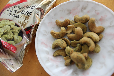 pähkinä カシューナッツ