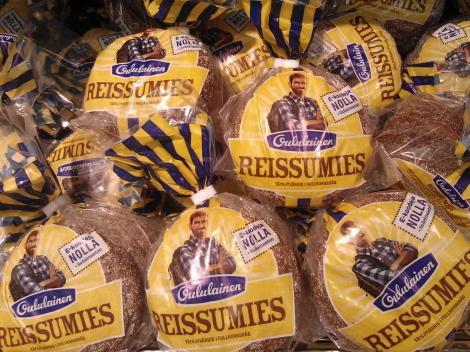 Reissumies leipä